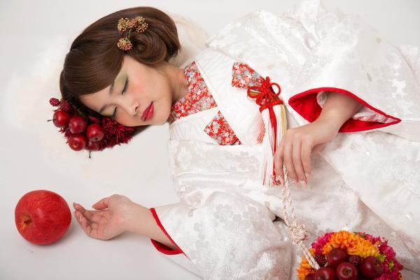 金沢で打掛レンタル、打掛、白無垢なら結マリー