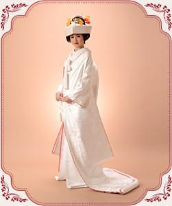 ブライダル和装の白無垢